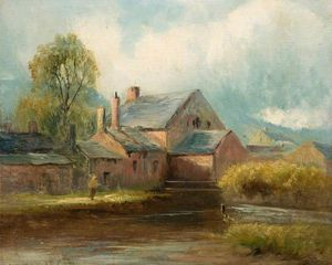 Henry Hadfield Cubley - der alte mühle