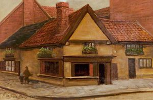 Henry Hadfield Cubley - The Old Geschäft, Newark, Nott..