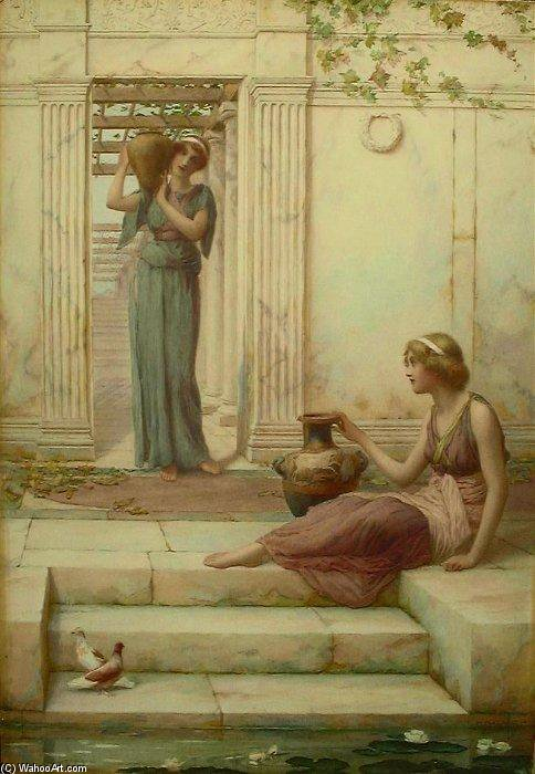 Die Watercarriers von Henry Ryland (1856-1924, United Kingdom)