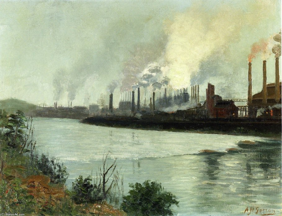 Bethlehem Steel von Aaron Harry Gorson (1872-1933, Lithuania)