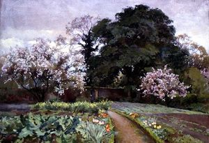 Alfred Parsons - A Kitchen Garden, Frome, Somer..