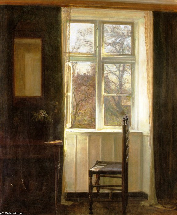 Untiteled von Carl Vilhelm Holsoe (1863-1935, Denmark)