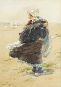 Charles Paul Gruppe - A Breezy Day