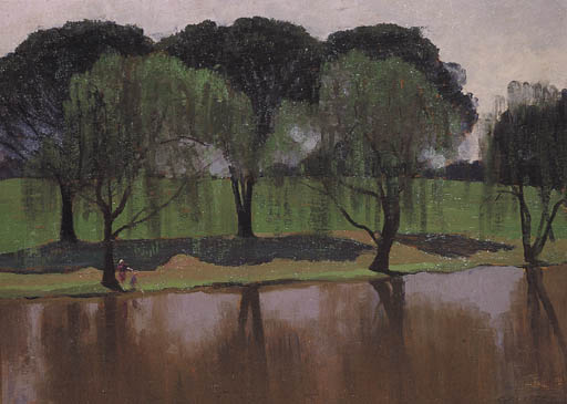 Parramatta Park von Elioth Gruner (1882-1939, New Zealand)