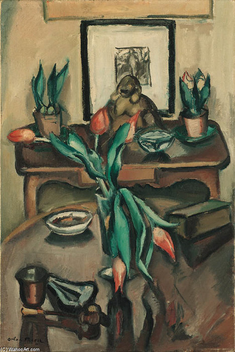 Nature Morte von Emile Othon Friesz (1879-1949, France)