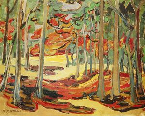 Emily Carr - herbst wald