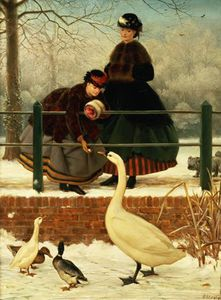 George Dunlop Leslie - Gefroren Out -