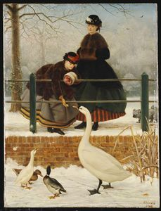 George Dunlop Leslie - Gefrorene Out