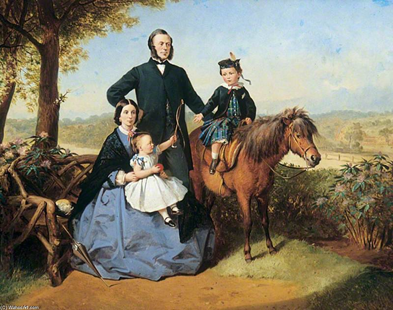 familie group von Thomas Barker (1769-1847, United Kingdom)