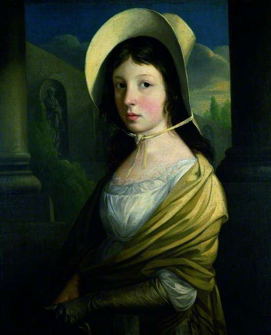 Priscilla Jones von Thomas Barker (1769-1847, United Kingdom)