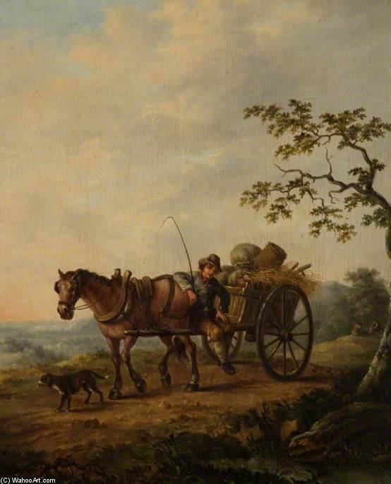 Das Land Wagen von Thomas Barker (1769-1847, United Kingdom)