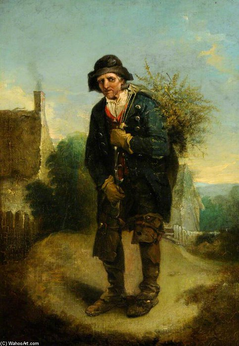 The Woodman - von Thomas Barker (1769-1847, United Kingdom)
