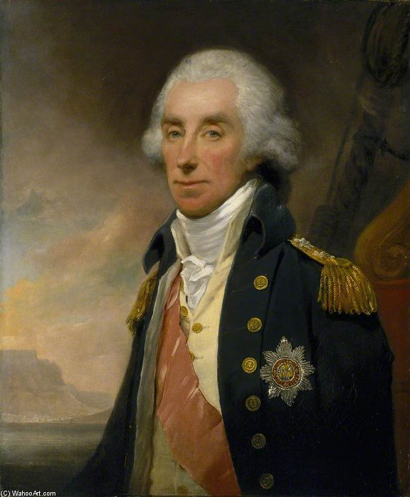 Admiral Lord George Keith Elphinstone von William Owen (1769-1825, United Kingdom)