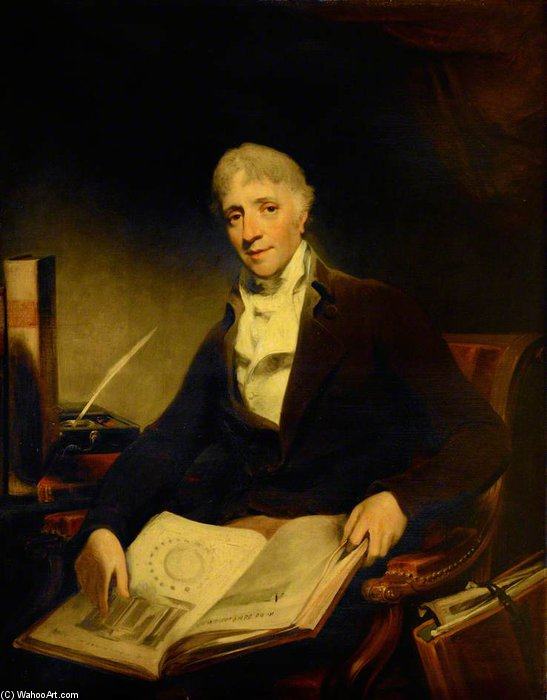 John Soane von William Owen (1769-1825, United Kingdom) | Museum Qualität Reproduktionen | ArtsDot.com