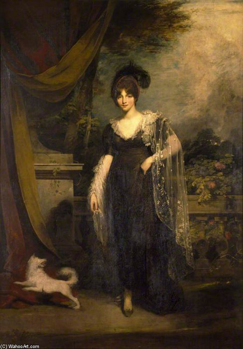 Mrs Robinson von William Owen (1769-1825, United Kingdom)