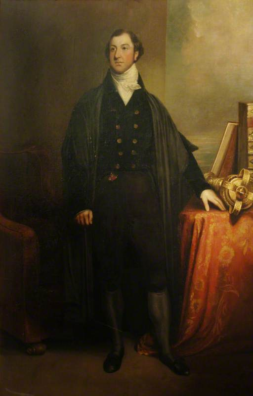 Sir Leonard Thomas Worsley Holmes von William Owen (1769-1825, United Kingdom)