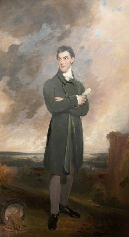 Sir Thomas Dyke Acland von William Owen (1769-1825, United Kingdom) | Kunst-Wiedergabe | ArtsDot.com