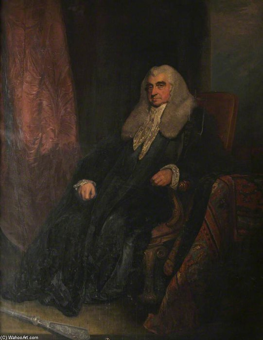 Scott, Baron Stowell, Richter des High Court of Admiralty von William Owen (1769-1825, United Kingdom)