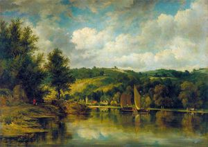 Frederick Waters (William) Watts - On The Wye