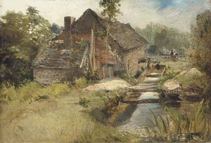 Frederick Waters (William) Watts - studio von a mühle
