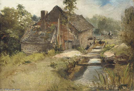 studio von a mühle von Frederick Waters Watts (1800-1870, United Kingdom)