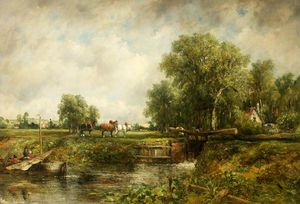 Frederick Waters (William) Watts - Die Lock-