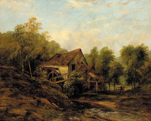 Frederick Waters (William) Watts - der alte wasser mühle