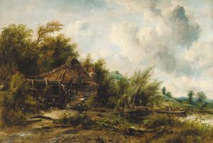 Frederick Waters (William) Watts - The Watermill