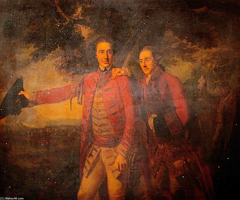 Allgemeine Ligonier And His Aide-de-camp von George Henry Harlow (1787-1819, United Kingdom)