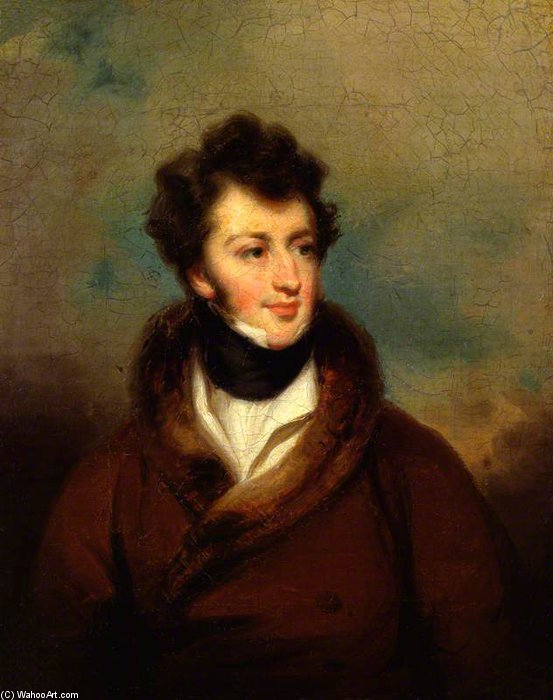 Sir Henry Rowley Bishop von George Henry Harlow (1787-1819, United Kingdom)