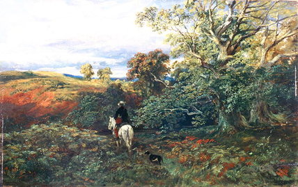 Dingley Dell, Montrose von Samuel Bough (1822-1878, United Kingdom)
