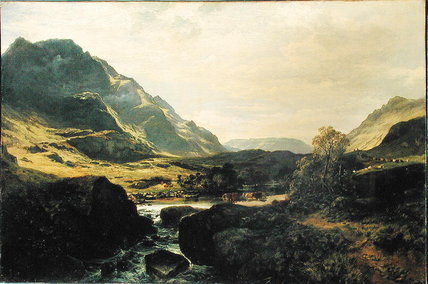 In Glen Massan von Samuel Bough (1822-1878, United Kingdom)