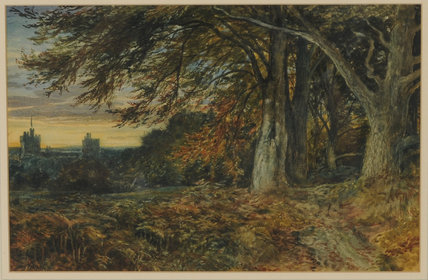 Naworth Castle von Samuel Bough (1822-1878, United Kingdom)