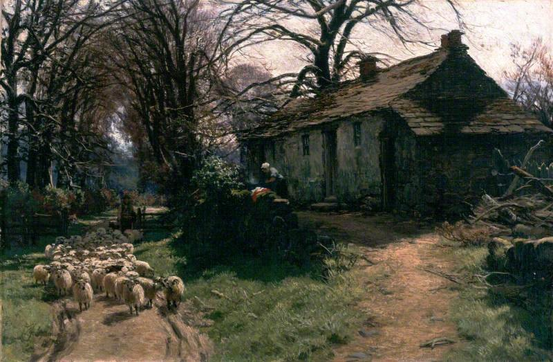 Entrance To Gleneagles von David Farquharson (1839-1907, United Kingdom)