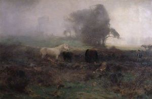 David Farquharson - in einer nebel