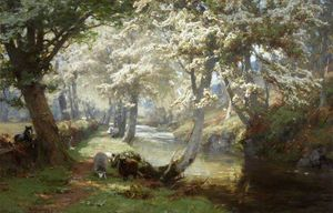 David Farquharson - Spring in the Trossachs