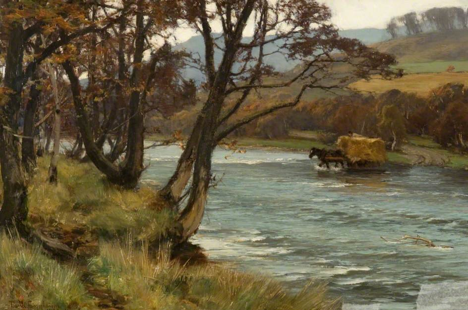 Die Garry, Blair Atholl von David Farquharson (1839-1907, United Kingdom)