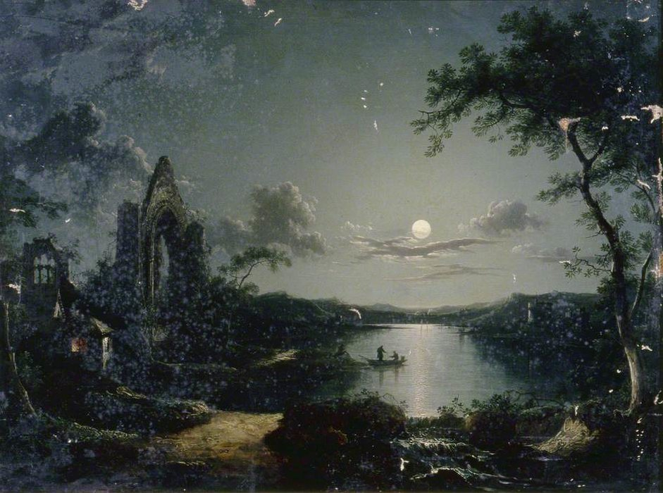 Moonlit Szene von Henry Pether (1828-1865, United Kingdom) | ArtsDot.com
