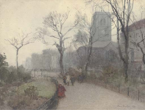A Misty Morning von Rose Maynard Barton (1856-1930, Ireland)