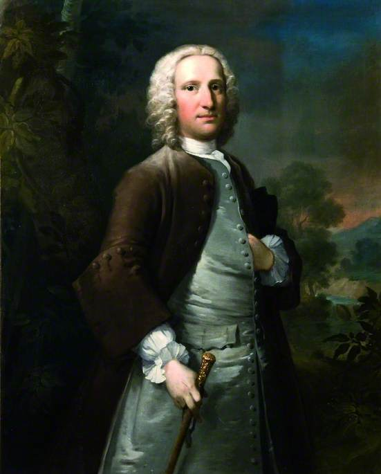 Sir Peter Thompson von Thomas Frye (1710-1762, Ireland)