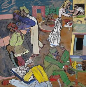 Ronald Brooks Kitaj - Greenwich Village