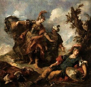 Gianantonio Guardi - Herminia und Vafrino Find..