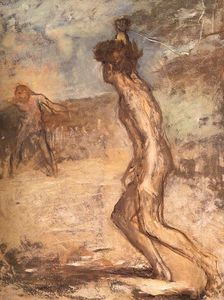 Edgar Degas - David - goliath , fitzwilliam museum , cambridge