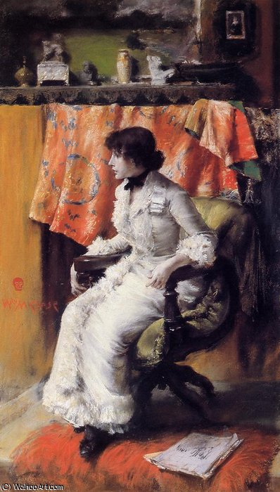 Virginia Gerson von William Merritt Chase (1849-1916, United States)