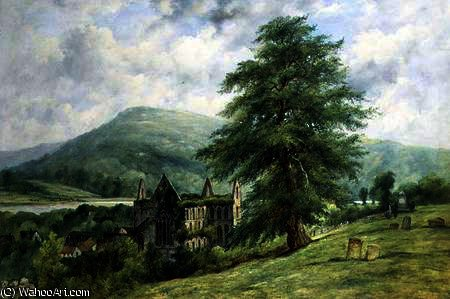 Tintern Abbey von Frederick Waters Watts (1800-1870, United Kingdom)