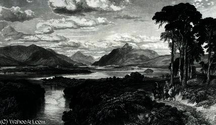 Loch Lomond von Samuel Bough (1822-1878, United Kingdom)