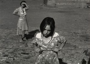 Dorothea Lange - Kind und ihrer mutter , Wapato , Yakima Tal , Washington