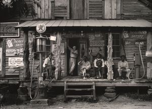 Dorothea Lange - Crossroads Laden, Alabama