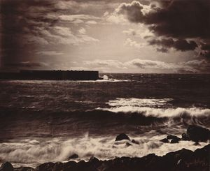 Gustave Le Gray - Die große Welle, Sète