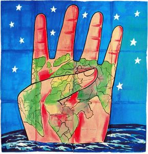 Francesco Clemente - Untitled (511)